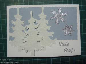 Gebastelte Weihnachtskarten.Gebastelte Weihnachtskarten Birgas Bastelstube